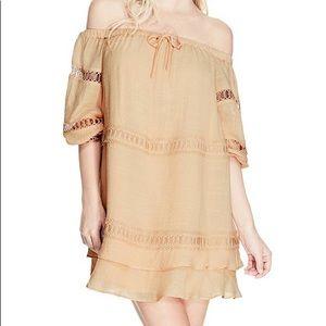 Guess off-the-shoulder dress